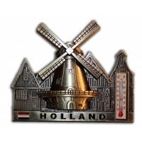 Typisch Hollands Magneet - Brons - Holland