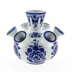 Heinen Delftware Tulpenvaas klein Delfts blauw