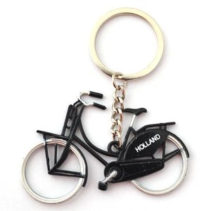 Typisch Hollands Holland Keychain Bicycle - Black
