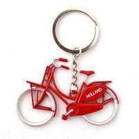 Typisch Hollands Schlüsselbund Fahrrad - Rot
