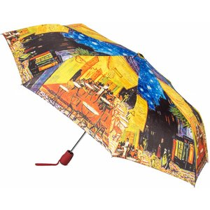 Robin Ruth Fashion Umbrella - Terrace - Vincent Van Gogh