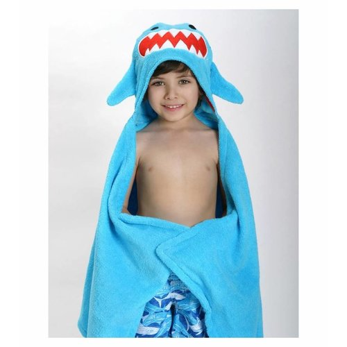 Zoocchini Kids badcape - Sherman the Shark