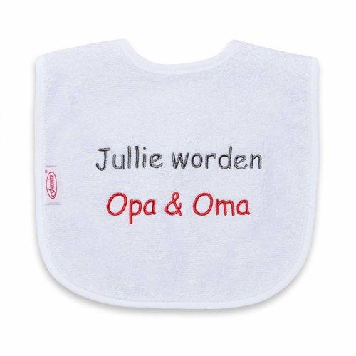 Funnies Tekstslabber Jullie worden Opa & Oma