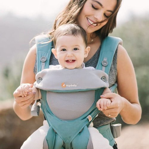 Ergobaby 4 positie draagzak 360°  Carrier Cool Air Icy Mint