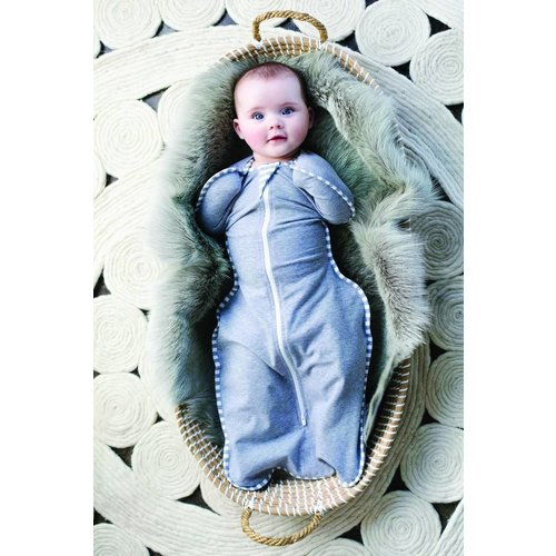 Love To Dream SwaddleUp Stage 1 inbakerslaapzak grijs