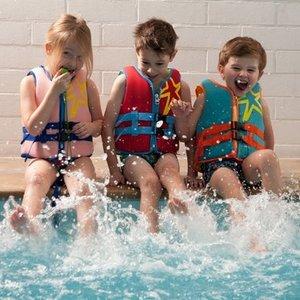 ChildHome Childwood Neoprene Zwemvest Aqua Blue - 3-6 jaar