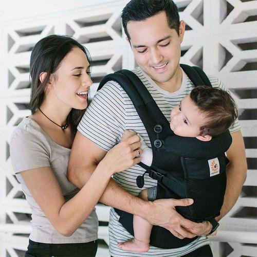 Ergobaby Babydraagzak Adapt - Cool Air Mesh - Onyx Black