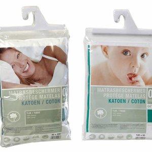 ABZ Waterdichte, absorberende matrasbeschermer - Box/Park