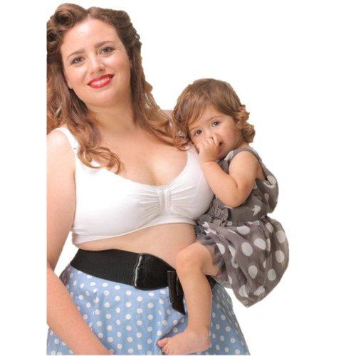 Carriwell Padded Support Voedingsbh met Gelbeugel® Wit