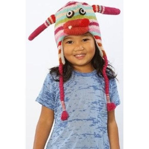 Mabel Monster Muts 100% wol - handmade