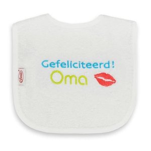 Funnies Tekstslabber - Gefeliciteerd Oma !