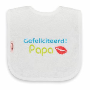 Tekstslabber - Gefeliciteerd Papa!