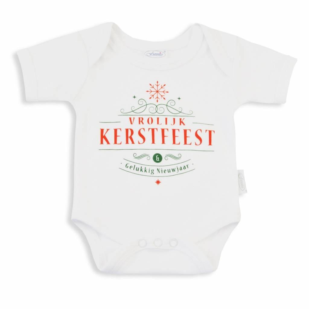 Rompertje Van 100 Katoen Jersey Vrolijke Kerst Online Babywinkel