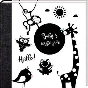 Baby's eerste jaar - Hello Baby Black&White