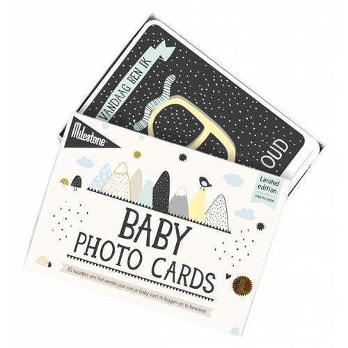 Milestone Babycards Mijlpaal-kaartjes - Baby foto kaartjes 'Over the Moon'