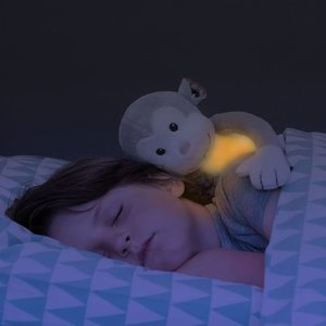 Zazu Nightlight Soft Toy Max - nachtlampknuffel Aap