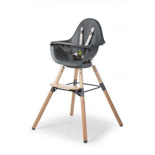 ChildHome High chair kinderstoel Evolu ONE.80° Naturel-Antraciet