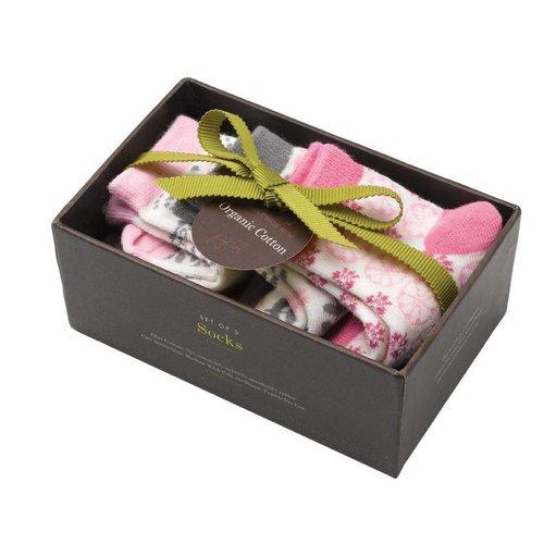 Luxe babysokjes in cadeauverpakking