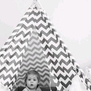 ChildHome Tipitent voor de kinderkamer. TIPI ZIGZAG