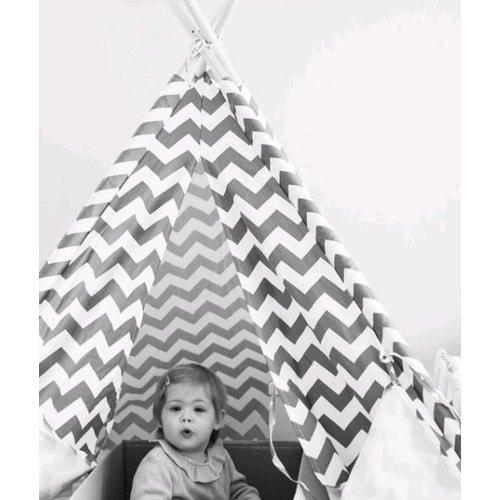 Childwood Tipitent voor de kinderkamer. TIPI ZIGZAG
