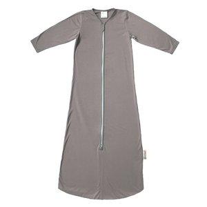 Smallvips Zeer dunne zomer slaapzak bamboe-tricot met extra lange mouwen tegen muggen! - Taupe