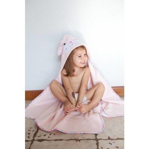 Zoocchini Baby badcape - Beatrice the Bunny