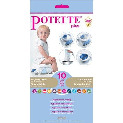 Potette Plus 10 Wegwerpzakjes voor de Potette