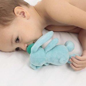 MiniKOiOi Sleep Buddy Speenknuffel - Blauw Konijn