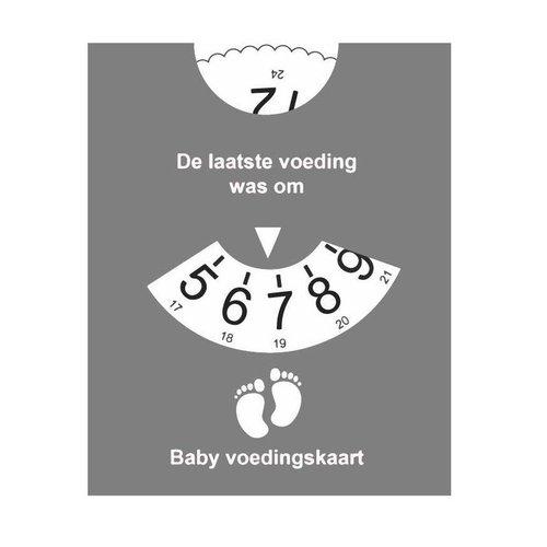Grijze Voedingskaart -  reminder
