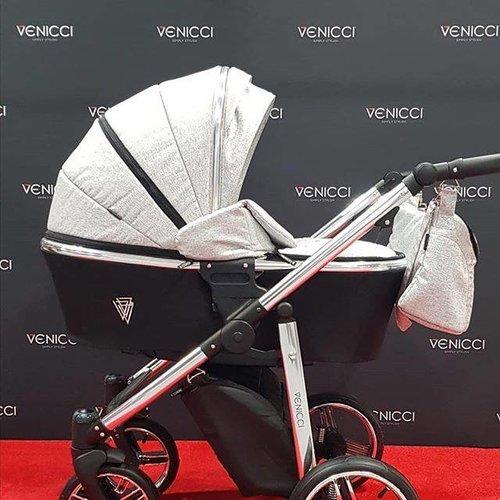 Venicci Silver Spark - Zeer Complete Kinderwagen -