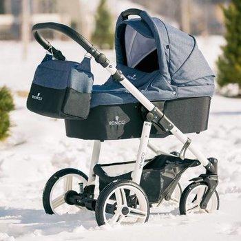 Venicci Soft - Denim Blue - Zeer Complete Kinderwagen -