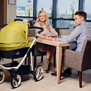 Venicci Soft - Denim Green - Zeer Complete Kinderwagen -