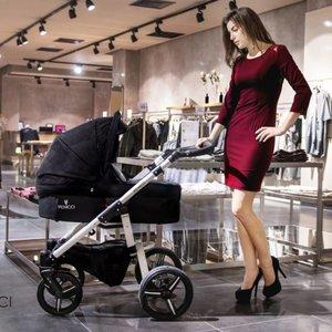 Venicci Soft - Black - Zeer Complete Kinderwagen -