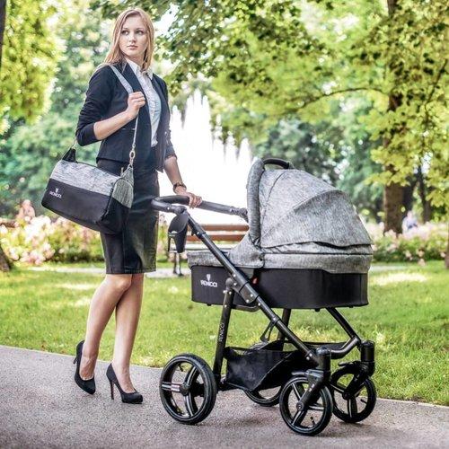 Venicci Soft - Grey - Zeer Complete Kinderwagen