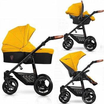Venicci Gusto Yellow Prestige - Zeer Complete Kinderwagen