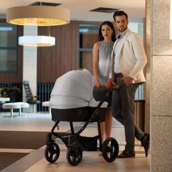 Venicci Gusto Grey Prestige - Zeer Complete Kinderwagen
