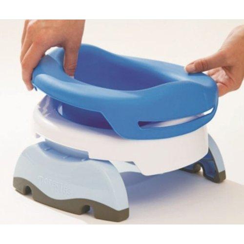 Potette Plus Rubberen toiletinzet voor je opvouwbare potje - Blauw
