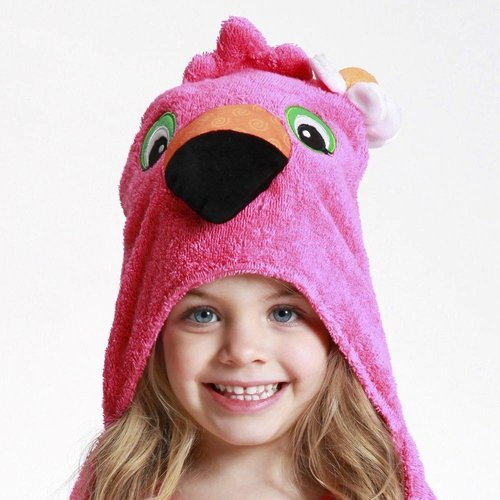 Zoocchini Kids badcape - Franny the Flamingo