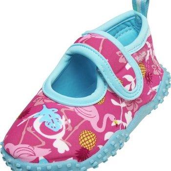 Playshoes Uv-protect elastische Waterschoentjes Flamingo