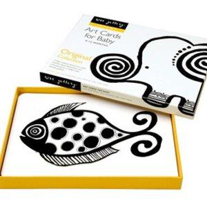 Wee Gallery Art Cards Original zwart-witte babykaarten