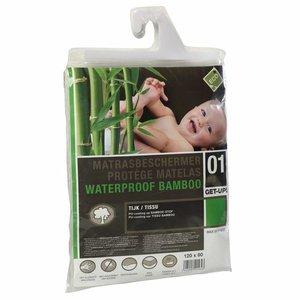 ABZ Waterdicht, absorberend hoeslaken Bamboe - Junior