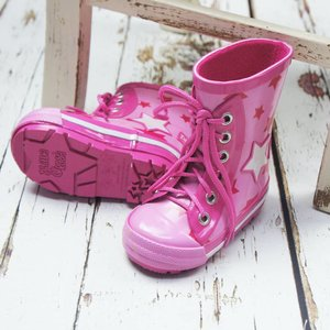 Blade & Rose Rubberen Regenlaarsjes - Wellies | Girls Star