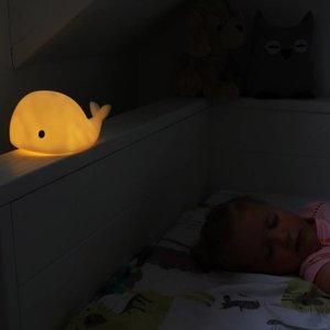 Flow Nachtlampje Moby de walvis - Small