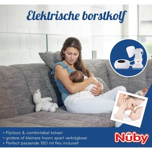 Nûby Elektrische borstkolf single of double