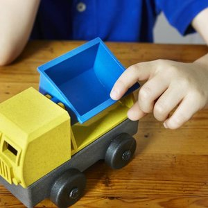 Luke's Factory Puzzel vrachtwagen - Tipper truck - Kiepwagen