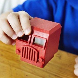 Luke's Factory Puzzel vrachtwagen - Fire Truck- Brandweerwagen