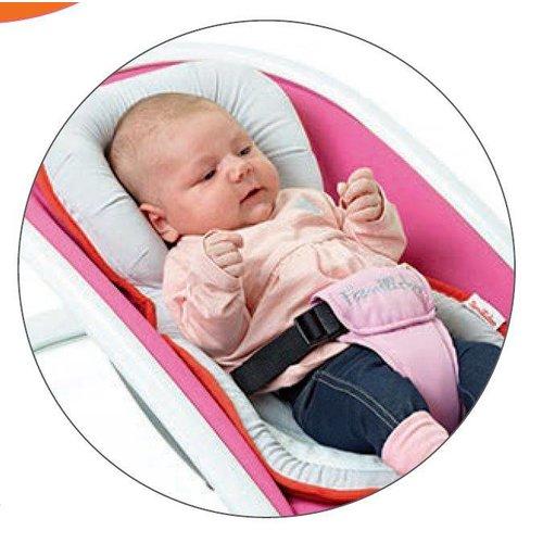 Familidoo Inlegger 3 in 1 babykussen - traagschuim