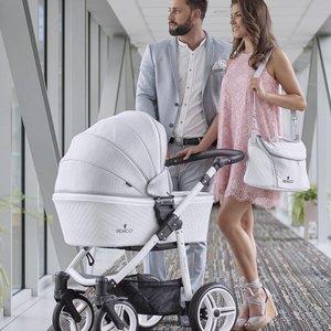 Venicci Pure Stone Grey - Zeer Complete Kinderwagen