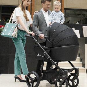 Venicci Shadow Black - Zeer Complete Kinderwagen