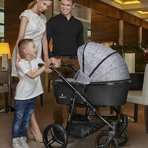 Venicci Shadow Fashion Black - Zeer Complete Kinderwagen
